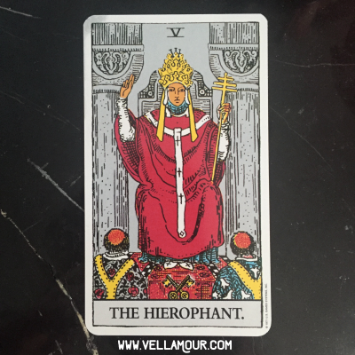 The Hierophant -- New Moon Tarot Reading Sept. 2016